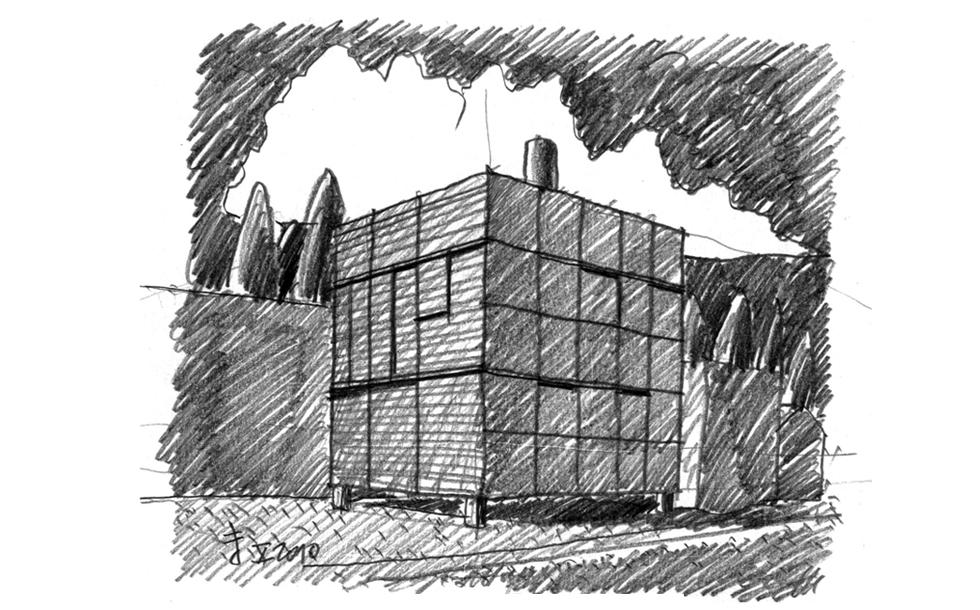 01-20101105-Letnja kuca Pantic-Perspektiva 1